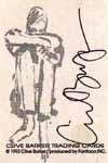clive barker autograph card