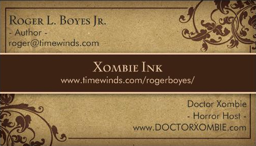 2014 xombie ink card