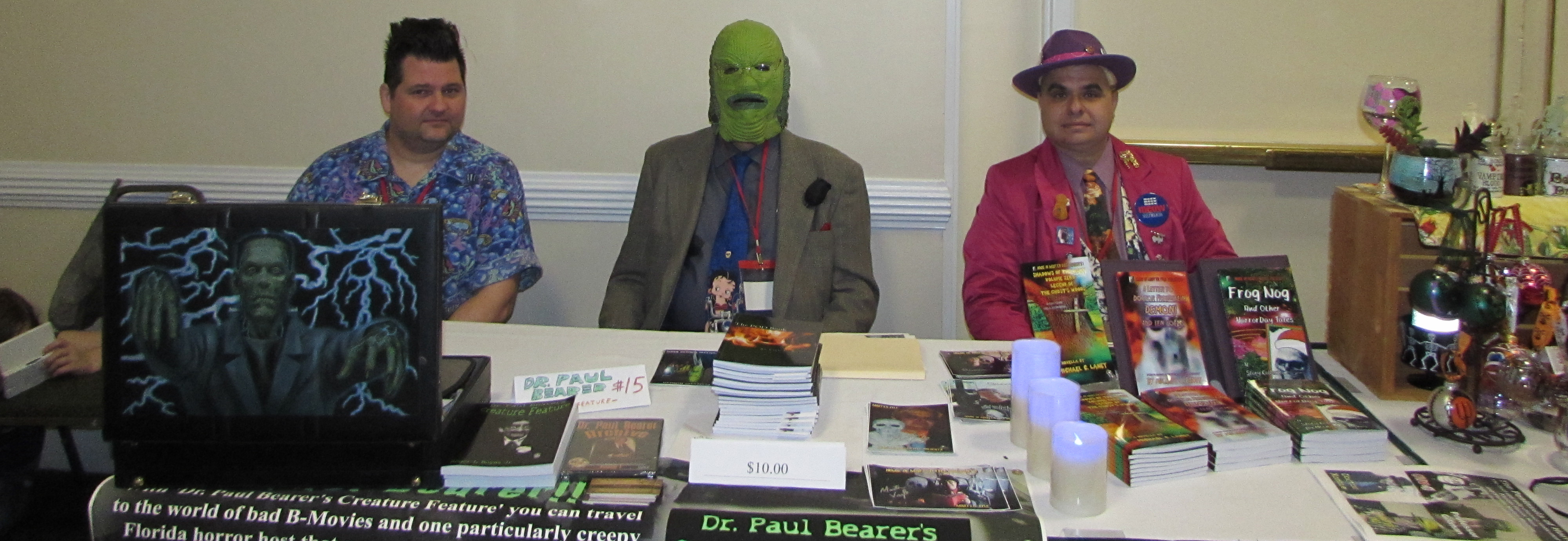"""Horror Host Meat-n-Greet"""" @ Oasis 27 Sci-Fi Convention"""