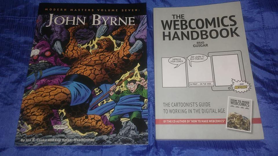 john byrne and webcomics